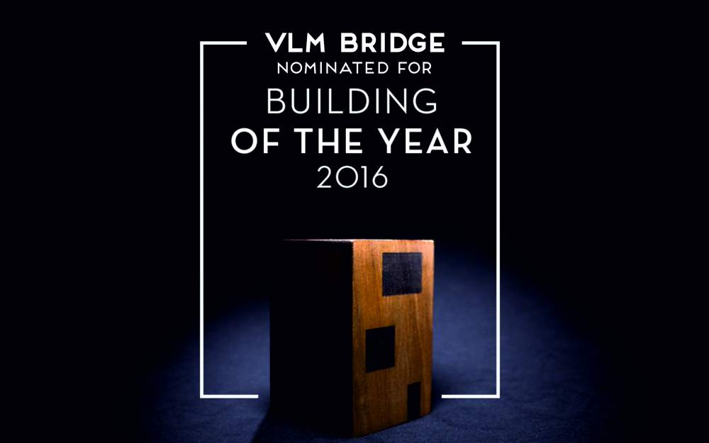 VLM BRIDGE nominated for Building of the Year 2016