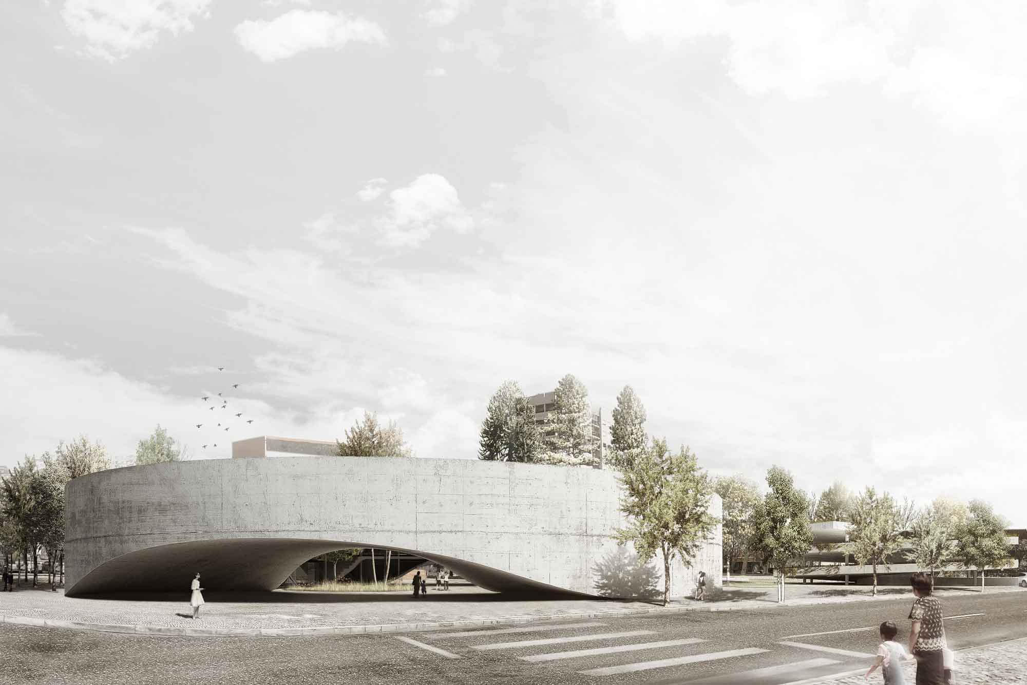 Cultural center architecture and design archdaily