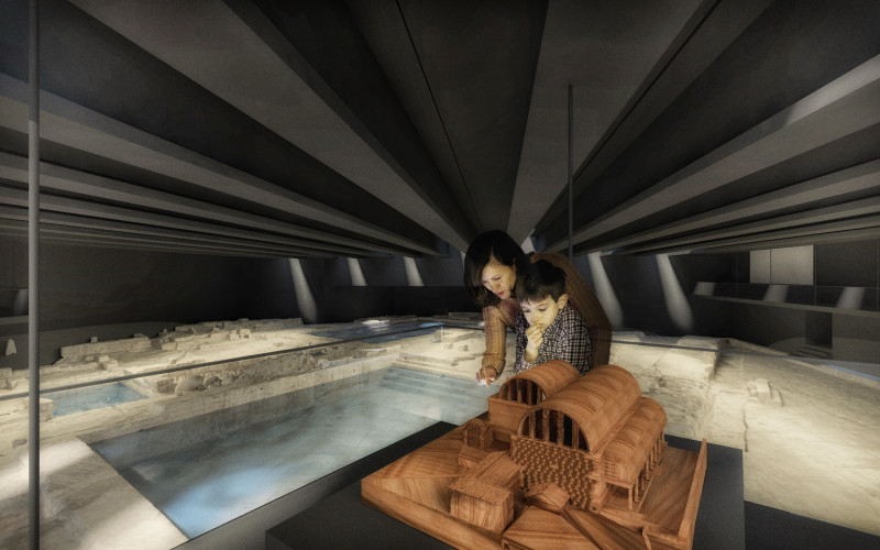 Competition Win _ Musealisation of Chaves Roman Thermal Baths